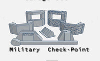 28mm Military Check-point