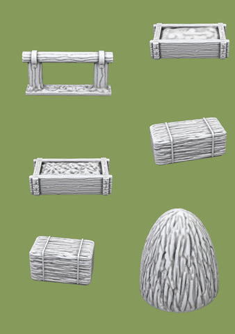 Farm Accessories - 3D Printable