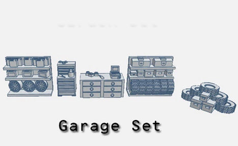 28mm Garage set