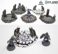Fantasy Sacrifice Altars - 3D Printable Files