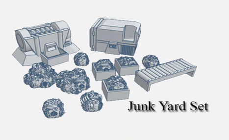 28mm Junkyard Accessories