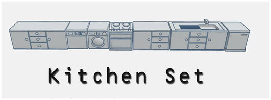 28mm Kitchen Set