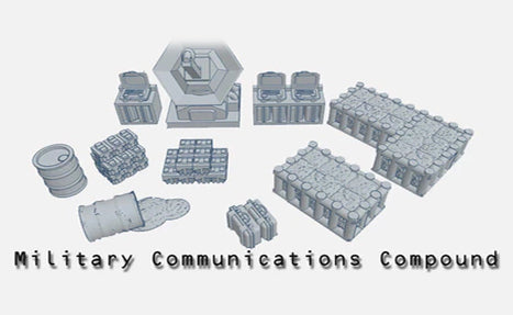 28mm Military Communication Compound