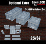 Sci-fi Container Set - OpenLOCK