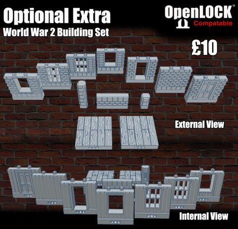 World War 2 Building Set - OpenLOCK