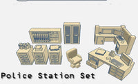 28mm Police Station Accessories