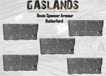 Pre-order Gaslands Resin - Sponsor Armour 5 Pack - RUTHERFORD