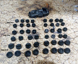 Gaslands 12 Car Resin Tyre Value pack!