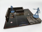 Resin Wall and Stair Pack - Compatible with Resident Evil The Board Game