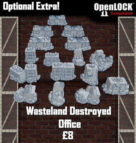 Wasteland Destroyed office