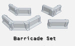 28mm Barricade Set