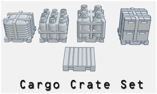 28mm Cargo Crate Set