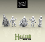 28mm Resin Dead Villagers (5)