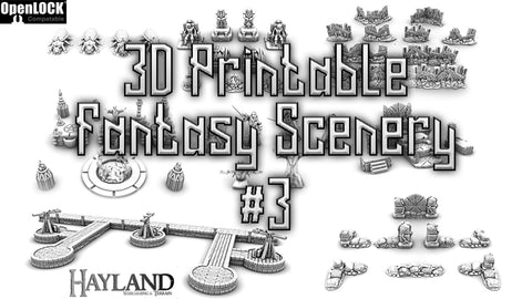 Fantasy Kickstarter #3 Main Pledge Plus Stretch Goals