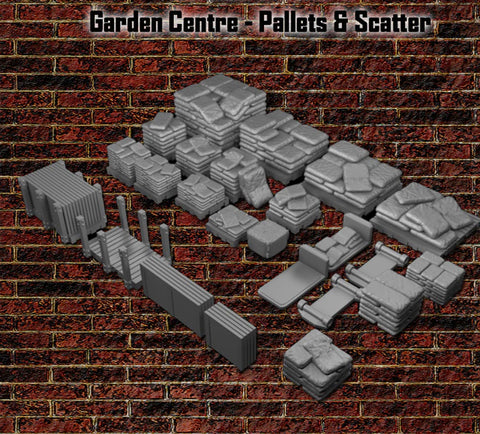 28mm Garden Center - Pallets & Scatter