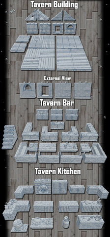 28mm Inn Bar - Inn Kitchen & Building - OpenLOCK