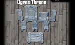 28mm Orgres Throne Room