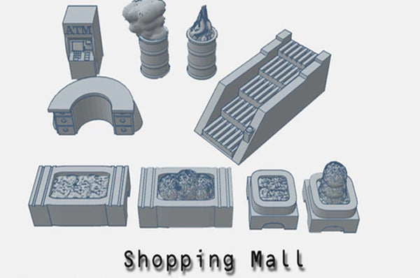 28mm Shopping mall Accessories