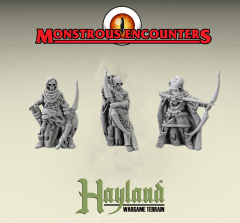 28mm Skeleton Archers (3)