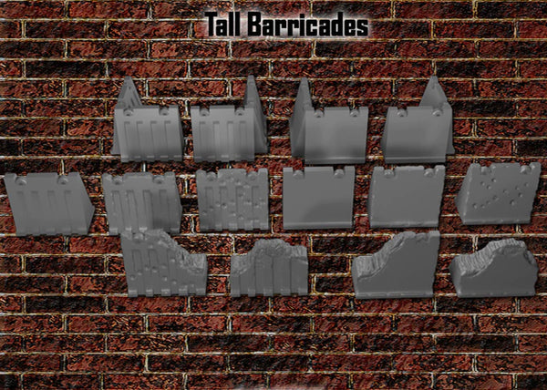28mm Tall Barricades