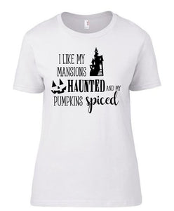 Mansions And Pumpkins T-Shirt