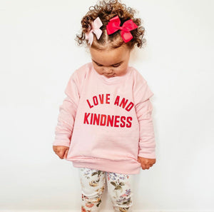 Love And Kindness Sweater Kids