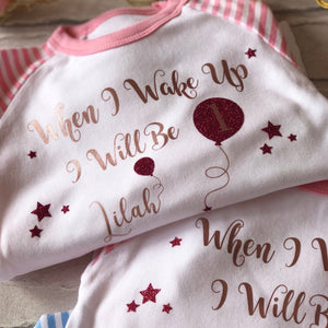 Childrens Birthday Pyjamas