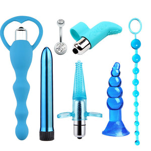 Vibrator Kit Private Erotic BDSM Sex Toys Flirt Games Products for Women Men Couples Sexy Shop
