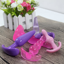 6Pcs Anal Plug Dildo Erotic Anal Toys Prostate Massager Adult Gay Silicone Beads For Couples