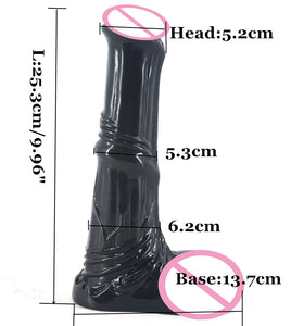 Big Pony artificial penis realistic sex toys for women's erotic masturbation