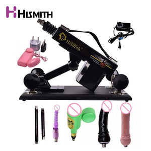 Automatic Sex Machine Gun Sex Toys for women Love machine with Male Masturbation Cup and Big Dildo