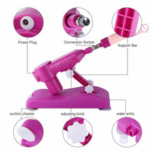 New Arrival Noiseless Automatic Sex Machine Gun Love Machine with 8kinds Dildo Attachments