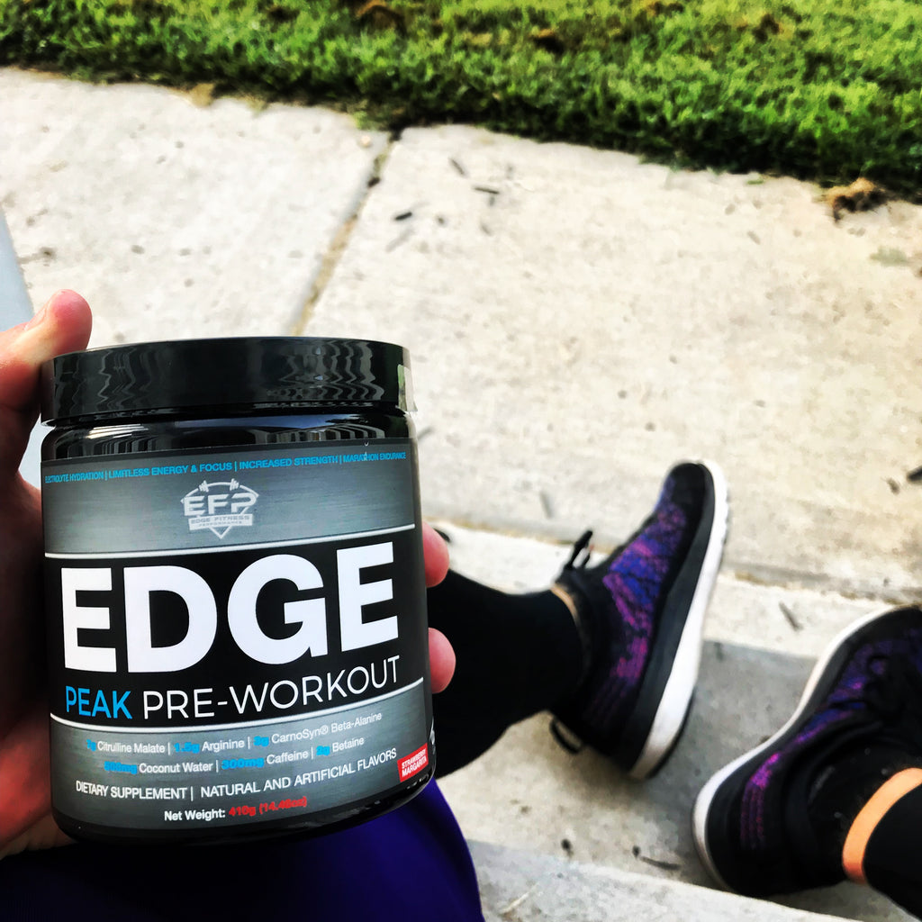 Supplement Review of EDGE Peak Pre-Workout