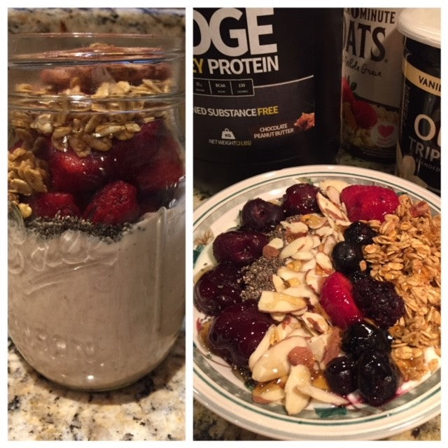 EDGE Yogurt Protein Bowl