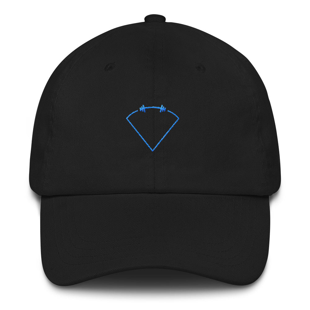 Dad hat Diamond Logo