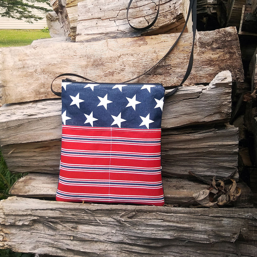 Patriotic Starts & Stripes Mini Bag
