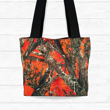Large Blaze Camo Shoulder Bag