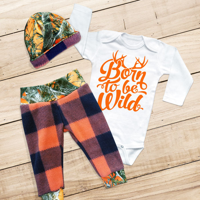 BORN TO BE WILD 3-piece Set