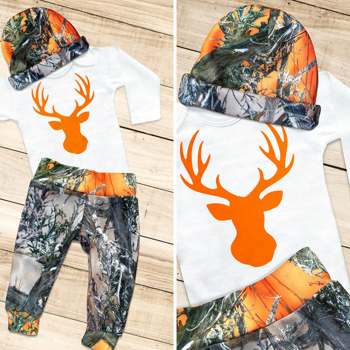 BLAZE BUCK 3-piece Camo Set