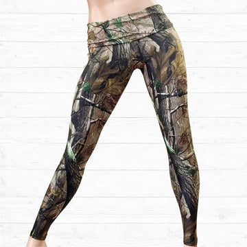Full Length Camo Leggings