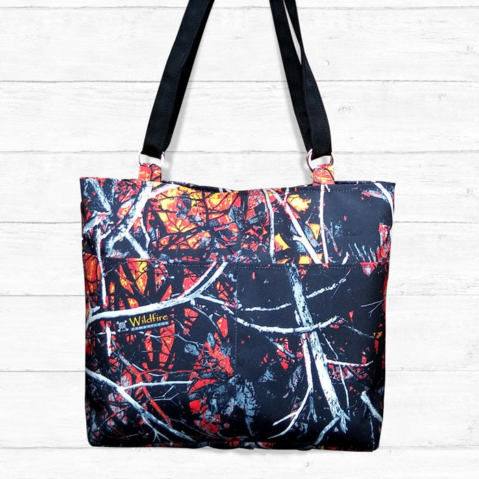 Large Camo Tote Bag