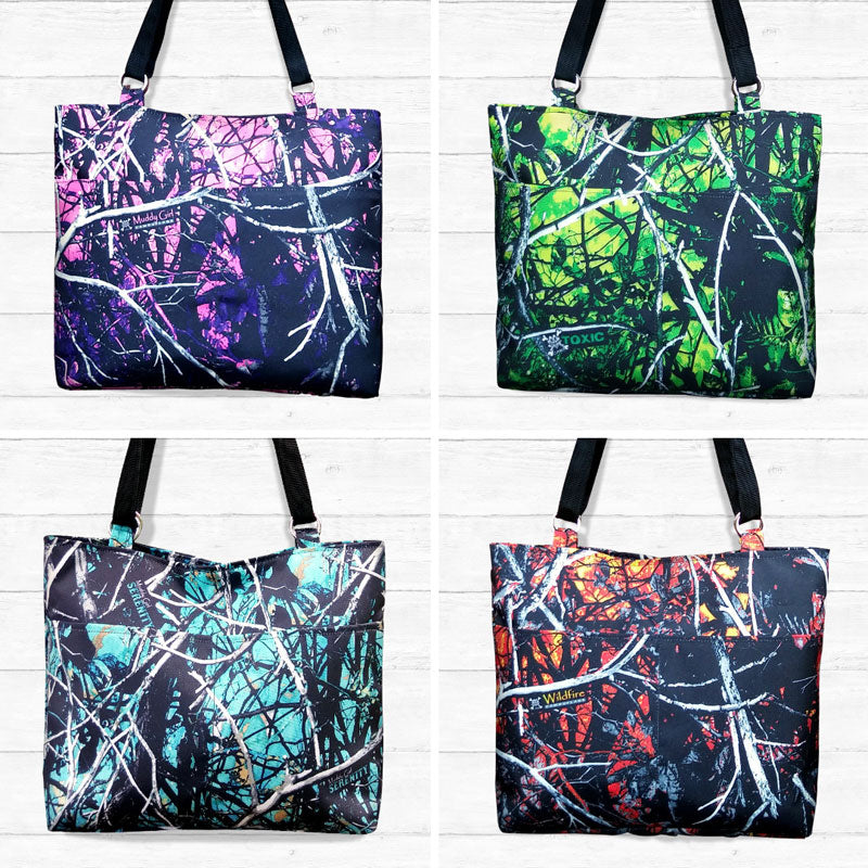 Large Camo Tote Bags (Limited Edition)