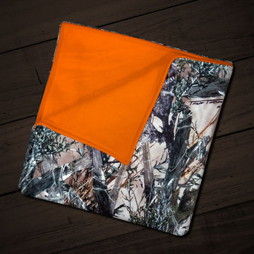 Camo Fleece Baby Blanket
