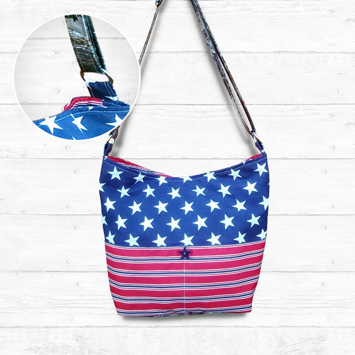 Camo Stars & Stripes Bag