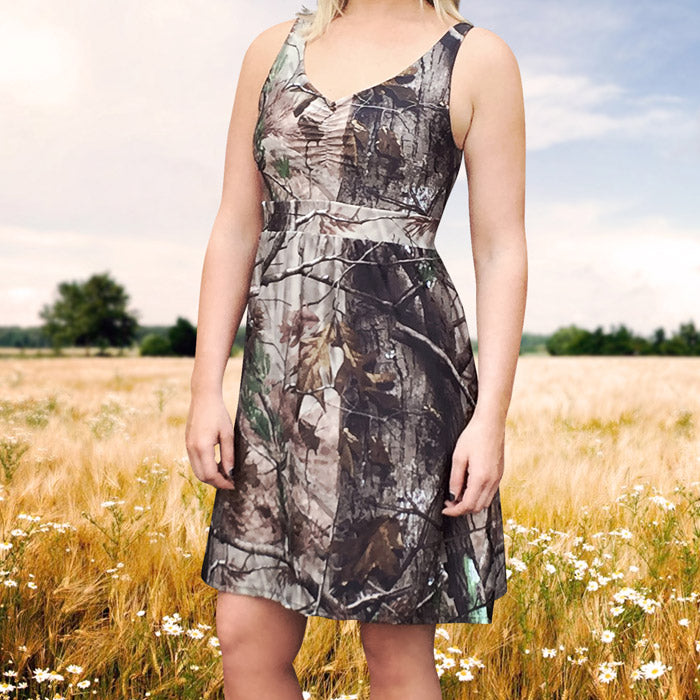 Camo Tank Sundress