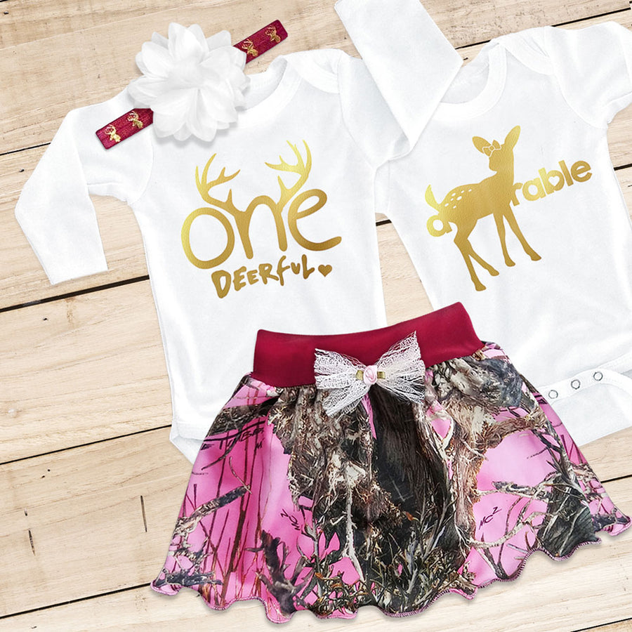 ONE-DEER-FUL & A-DOE-RABLE Combo Set