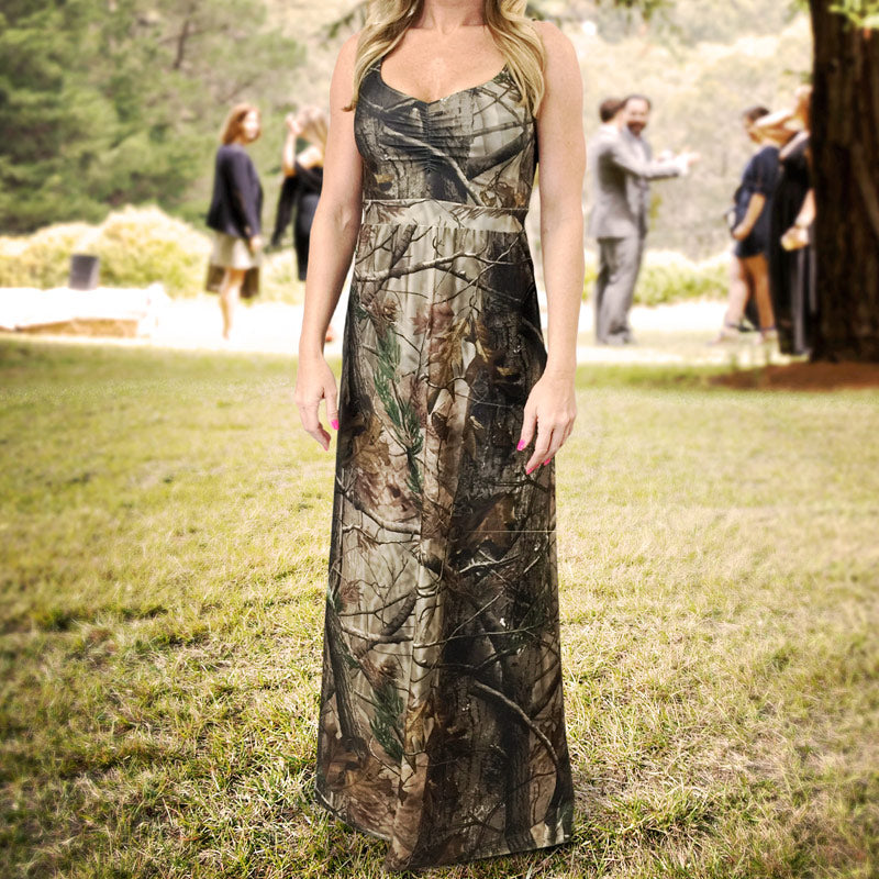 Full Length Camo Dress