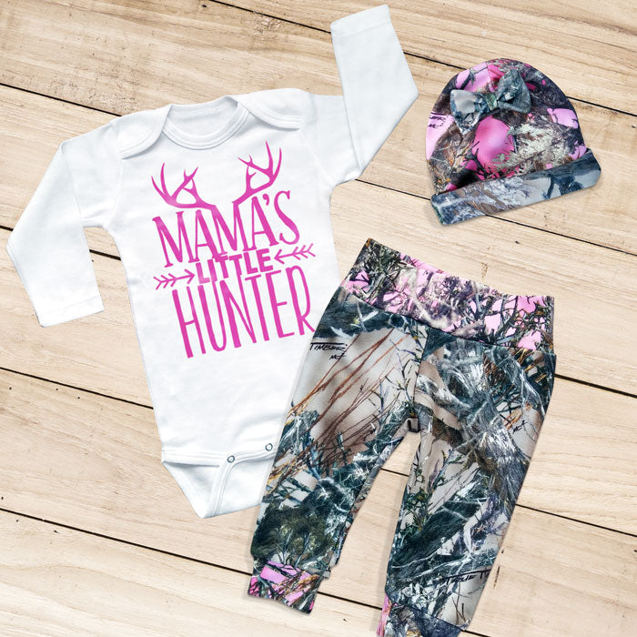 MAMA'S LITTLE HUNTER 3-piece Camo Set