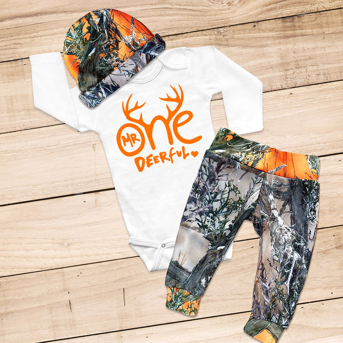 MR ONE-DEER-FUL 1st Birthday Set