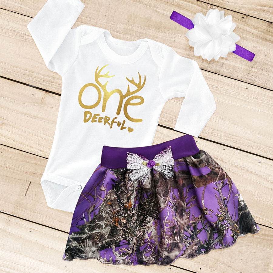 ONE-DEER-FUL 1st Birthday Set